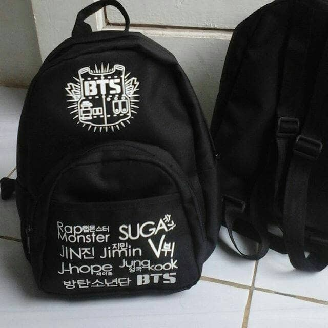 Tas bts mini kpop ransel backpack