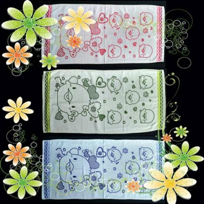 Jual Handuk Bayi Katun Lembut 100x50 Cm Cianata Baby Towel 1 Harga Rp 32.700