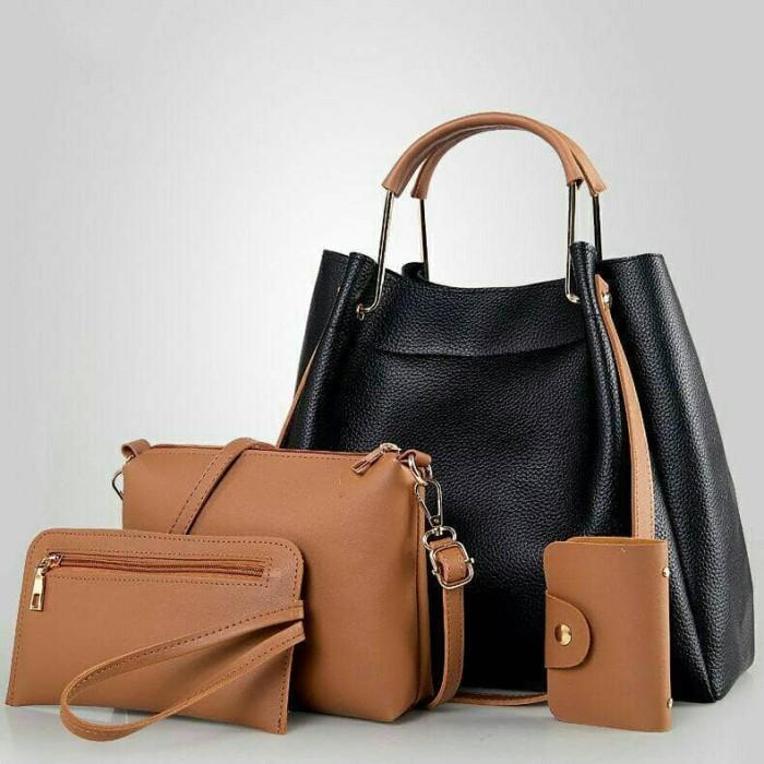 harga Tas fashion wanita tas handbag import set 4in1 large Tokopedia.com