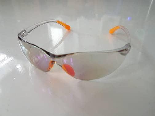 harga Asli!!! kacamata safety goggles 738-1 blue mirror suju. kacamata gaya Tokopedia.com