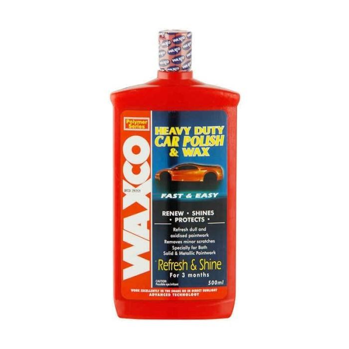 Waxco heavy duty car polish untuk mengkilap kan cat yang kusam 500 ml