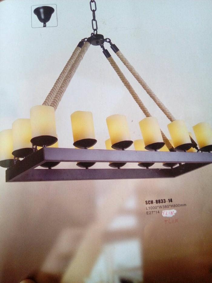 Jual Lampu gantung plafon/lampu hias/klasik/vintage ...