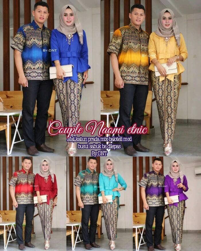 harga Batik couple sarimbit seragam keluarga pesta kondangan baju muslim Tokopedia.com