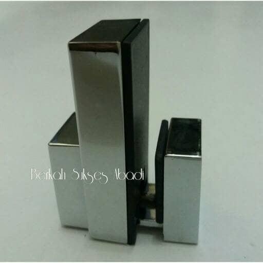 harga Ambalan jepit kaca 107s , floating shelf , bracket ambalan kaca Tokopedia.com