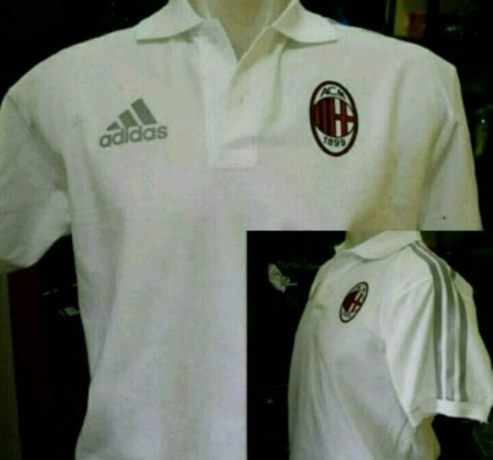 harga Kaos kerah ac milan/ac milan jersey polo shirt Tokopedia.com