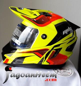 harga Mds helm super pro #2 fullface super moto Tokopedia.com