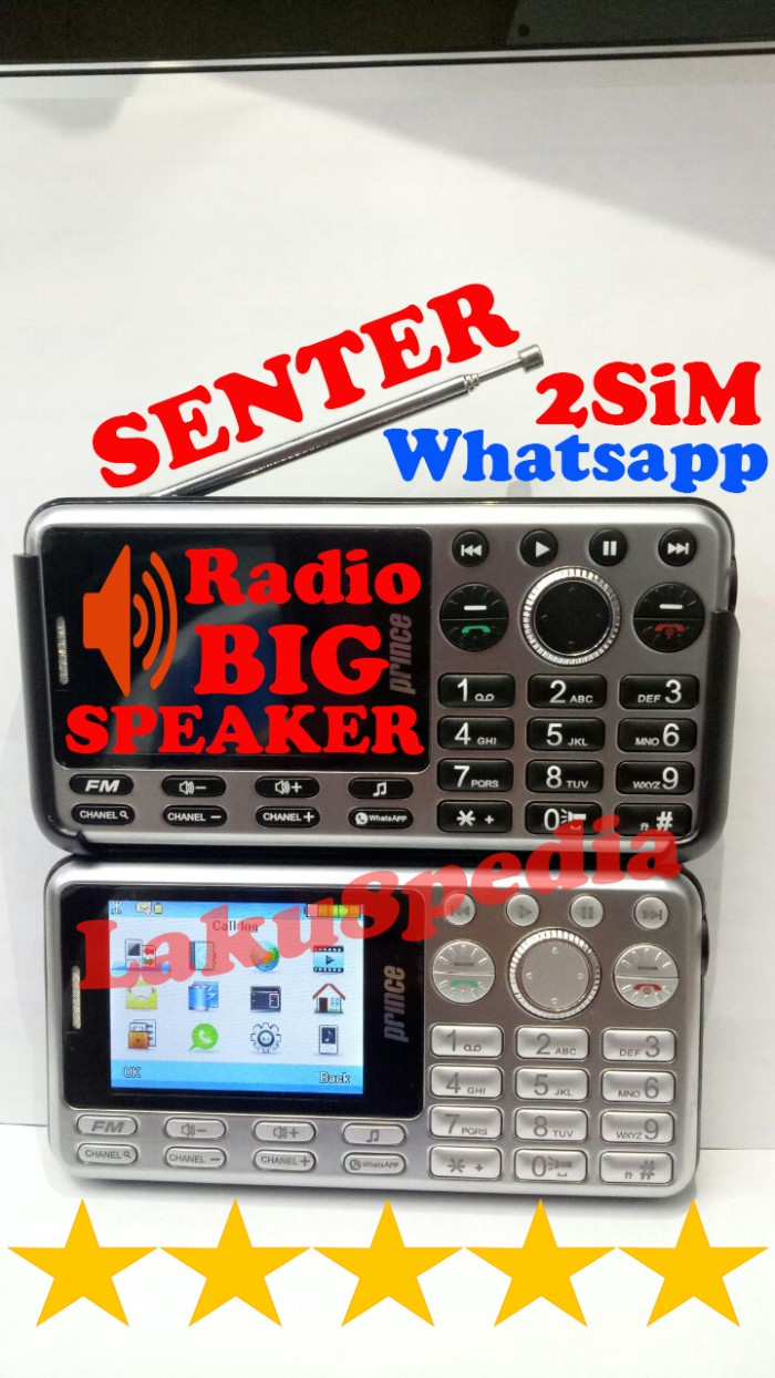 harga Prince pc999 plus big speaker whatsapp radio bonus headset Tokopedia.com