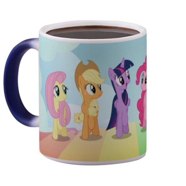 harga My little pony magic mug bunglon (berubah warna) gelas lucu 325 ml Tokopedia.com