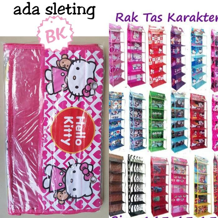 harga Rak tas gantung resleting hanger bag zipper motif karakter kartun Tokopedia.com