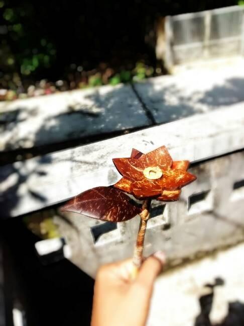 Jual Bunga Tempurung Batok Kelapa Kab Kudus Oni Made Tokopedia