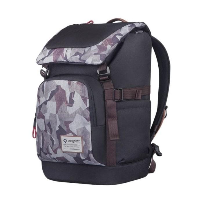 Bodypack Prodigers Conquest Tas Ransel / Laptop - Hitam