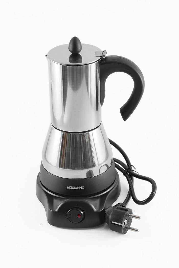 harga Akebonno electric/elektrik moka pot coffee maker (4 cups) Tokopedia.com
