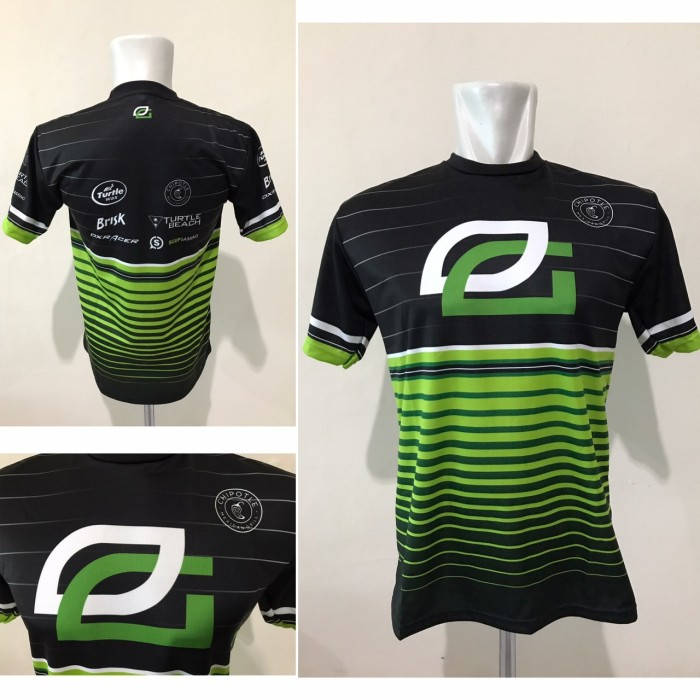 Baju Kaos Gaming Jersey Optic Gaming 2017