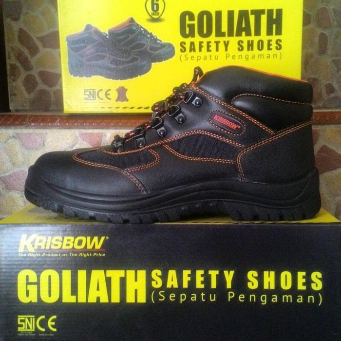 harga Sepatu krisbow safety shoes goliath 6 Tokopedia.com
