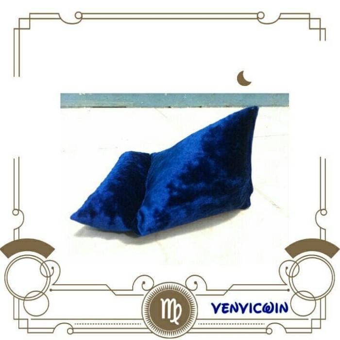 harga Venvicwin beanbag mini -stand bantal untuk smartphone - motif segitiga Tokopedia.com