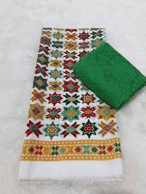 harga Set kain kebaya bali murah bahan brukat brokat dan satin bsw nakula Tokopedia.com