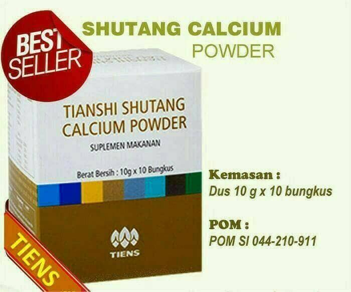 Foto Produk kalsium shutang tiens murah asli 100% segel BPOM dari sehat ku alami