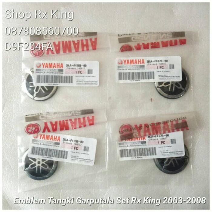 harga Emblem tangki garputala set rx king 2003-2008 original yamaha new Tokopedia.com
