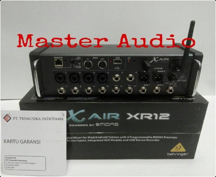 harga Mixer digital behringer x air xr12-original Tokopedia.com