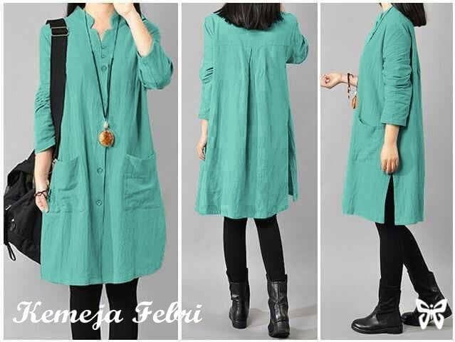 Tunik ebi tosca pakaian wanita atasan muslim terbaru blouse muslim