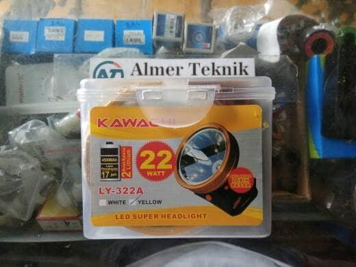 harga Senter kepala/head lamp kawachi ly-322a 22 watt Tokopedia.com