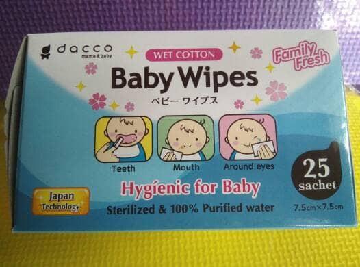 Dacco baby wipes tissue basah