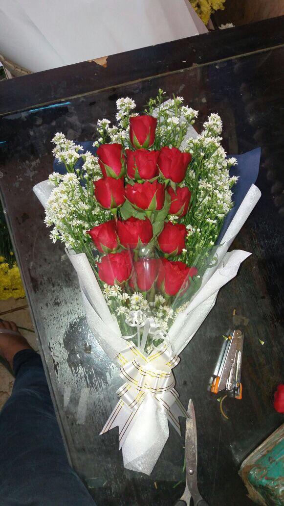 Jual Buket Bunga Mawar Merah Cocok Untuk Kado Hadiah Jakarta Timur Toko Hrp Tokopedia