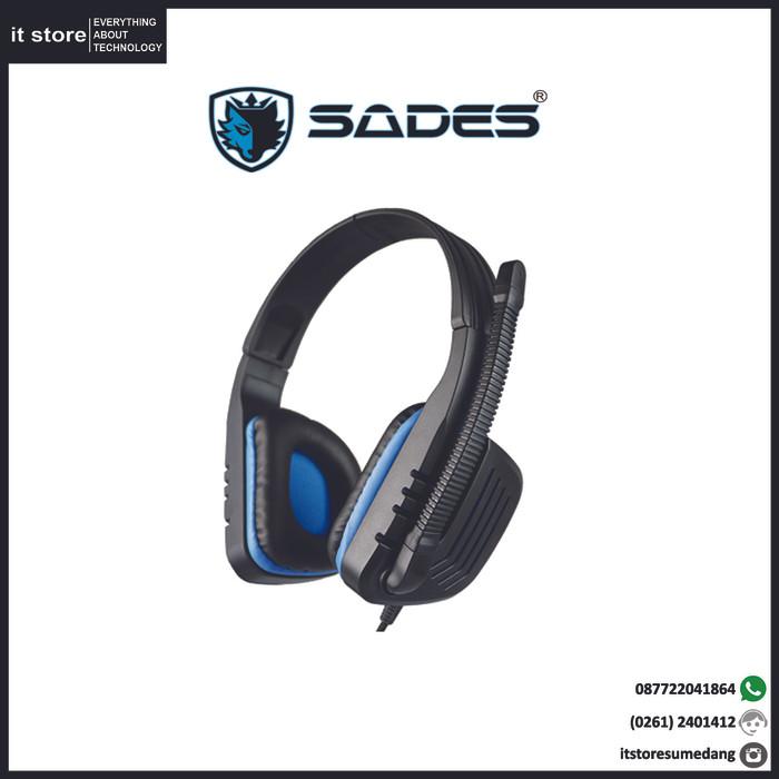 Headset Gaming Sades Chopper SA 711