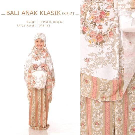 Mukena Bali Anak Klasik Sd Besar (9-12 Tahun)