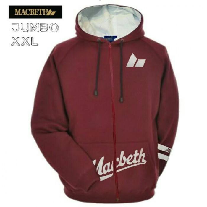 harga Jaket macbeth jumbo maroon/ jaket xxl fashion casual pria premium Tokopedia.com