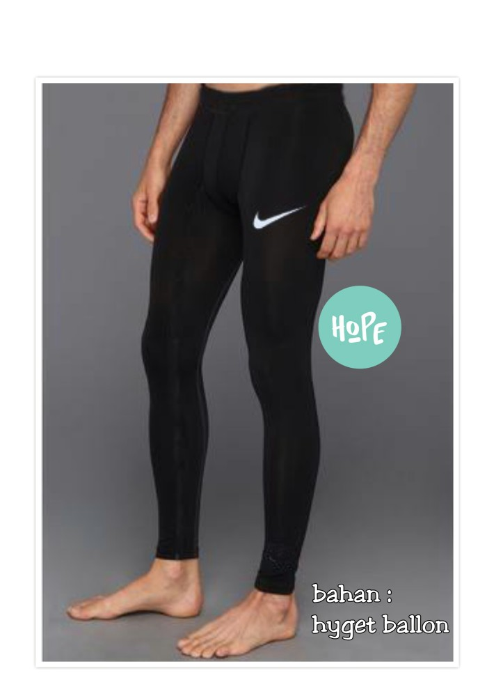 celana baselayer panjang longpants manset training gym legging renang