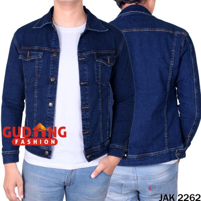 harga Jaket jeans pria smart casual jak 2262 Tokopedia.com