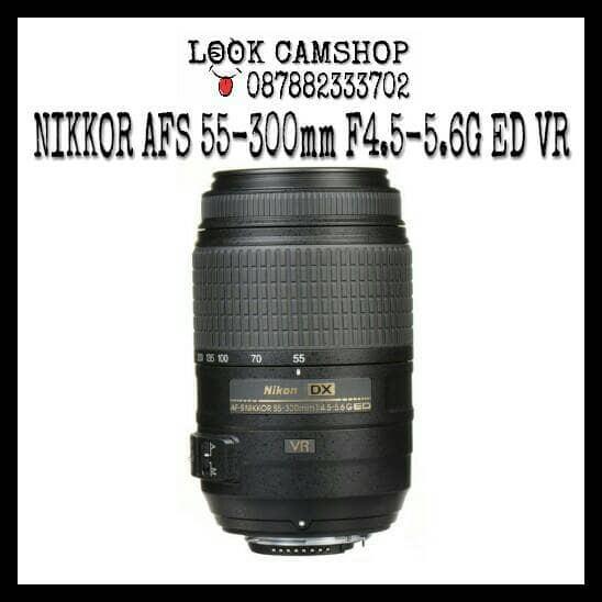 harga Lensa kamera dslr nikon nikkor af-s 55-300mm 55-300 f4.5-5.6g ed vr Tokopedia.com