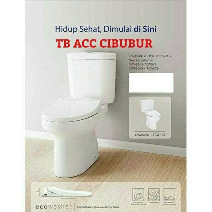 Jual closet toto cw 421 eco - TB ACC CIBUBUR   Tokopedia