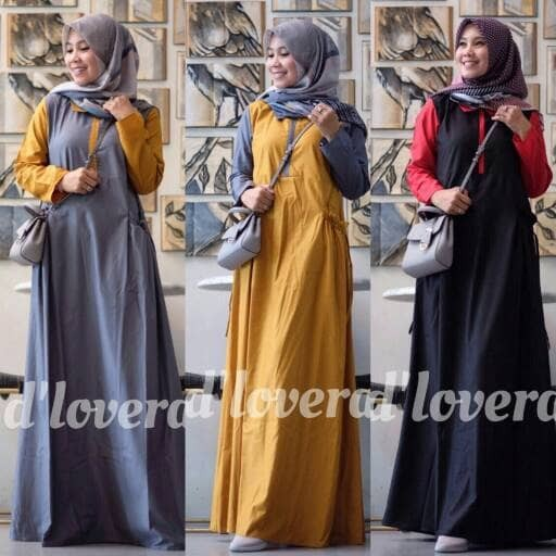 Jual Safira By D Lovera Gamis Dress Hijabers Kekinian Arimby Ol