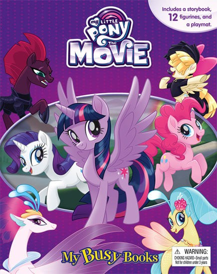 harga Buku my busy book my little pony the movie - story book & 12 figurine Tokopedia.com