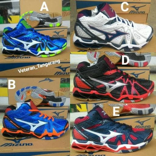 Jual Sepatu Mizuno Wave Tornado 9   IX Mid Hi Premium Import ... 15e0eb32e4