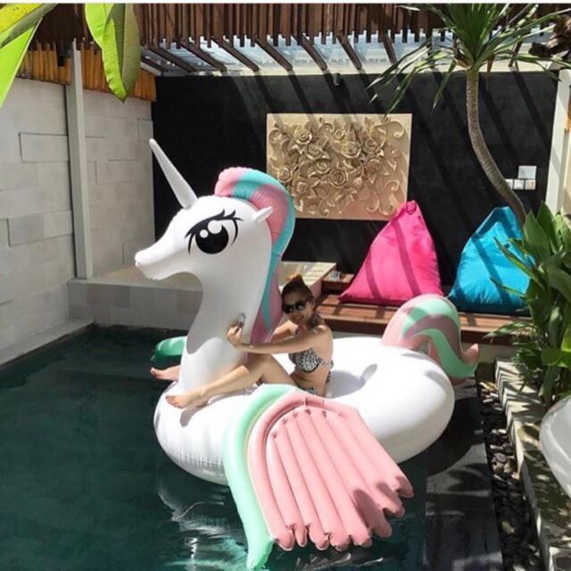 Floaties White Pony/Pelampung unik