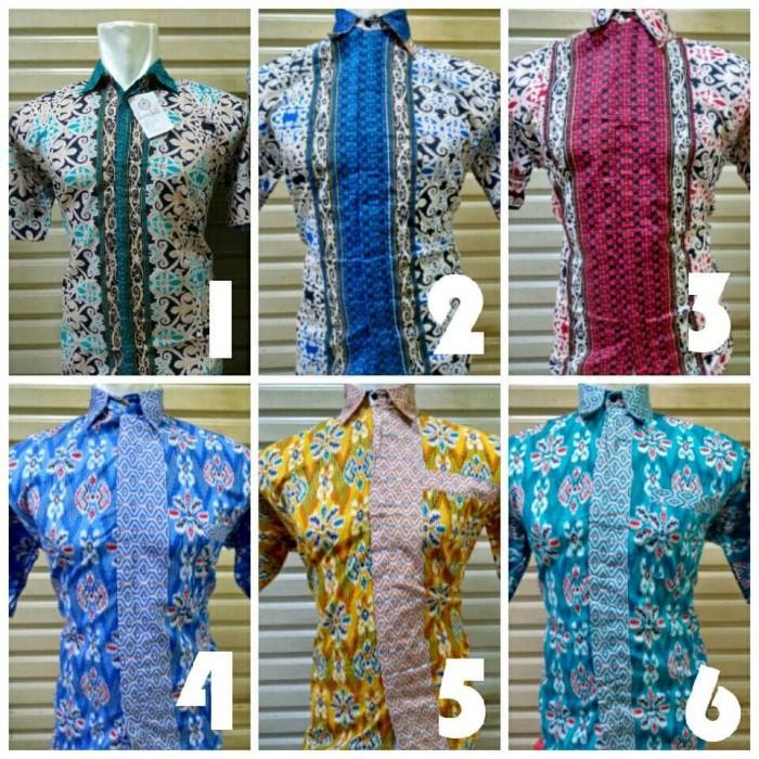 Jual Baju Batik Pria Kerja Kantor Seragam Ika Fashion Tanah Abang ... bd1933bf94