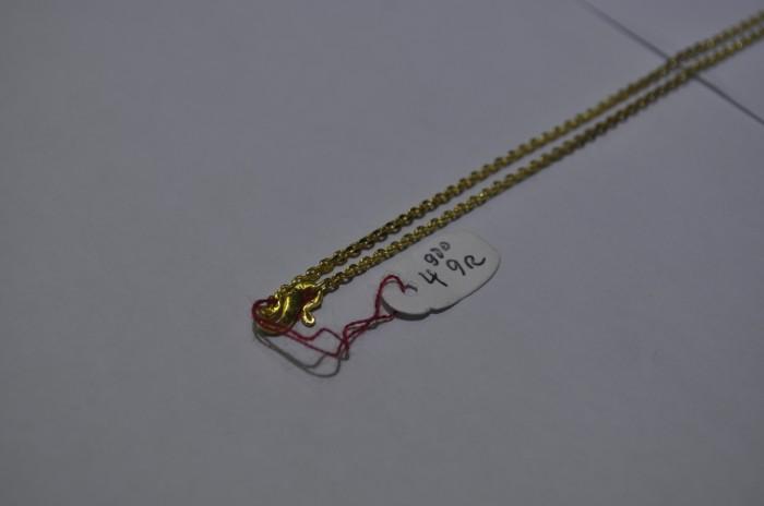 Lihatlah Harga Kalung Emas 24 Karat 5 Gram Terbaru