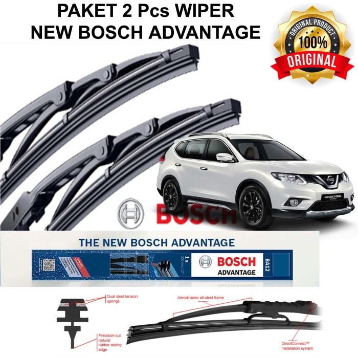harga Wiper mobil great new xenia bosch advantage 2pcs 21 14 (kn - kr) Tokopedia.com