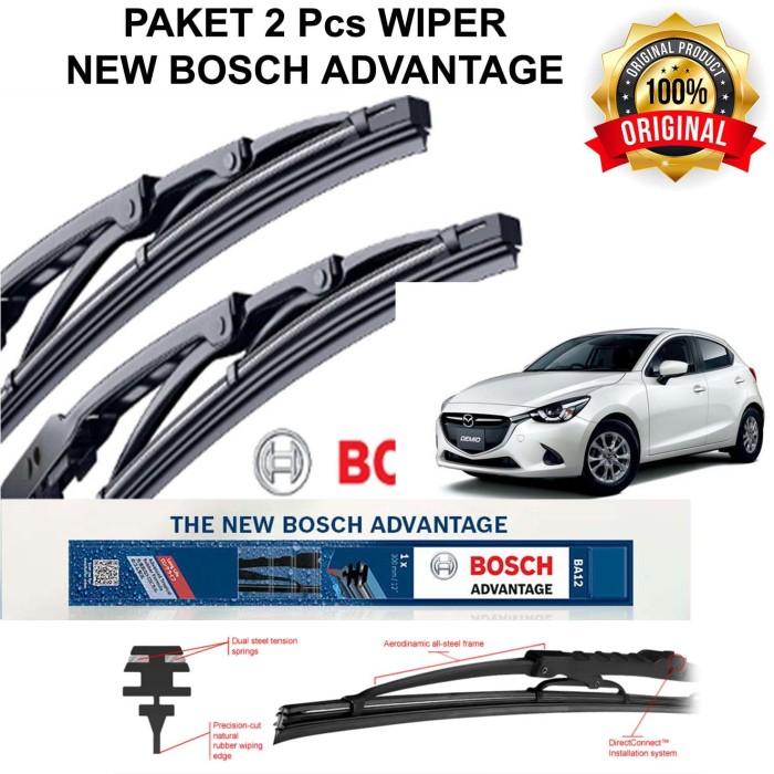 harga Wiper mobil mazda 2 1st gen bosch advantage 2pcs 26 14 (kn - kr) Tokopedia.com