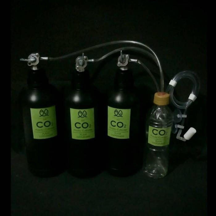 harga Co2 Diy Aquascape 3 Tabung Plastic Silinder Tokopedia.com
