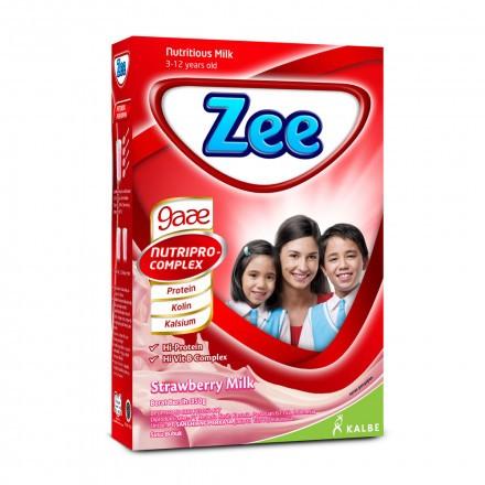 Jual Zee Reguler Strawberry Milk 350 G Harga Promo Terbaru