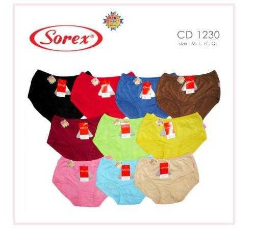 Sorex 6 Pcs Celana Dalam Wanita Type 0839 Size M L El Ql Warna ... 9df0d06b3f