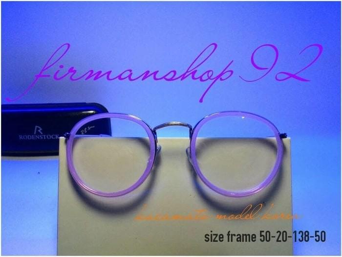 Jual frame kacamata bulat murah terbaru harga grosir putih bening ... 79d576a280