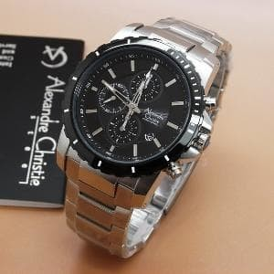 harga Jam tangan alexandre christie 6141 plat putih original Tokopedia.com