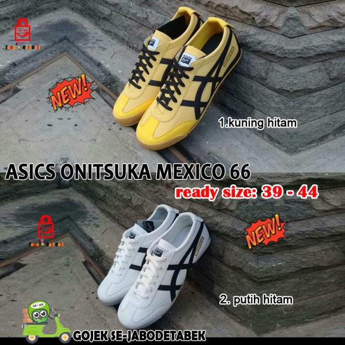 Jual sepatu asics onitsuka tiger mexico66. sepatu sneakers. - Putih ... adb672d753