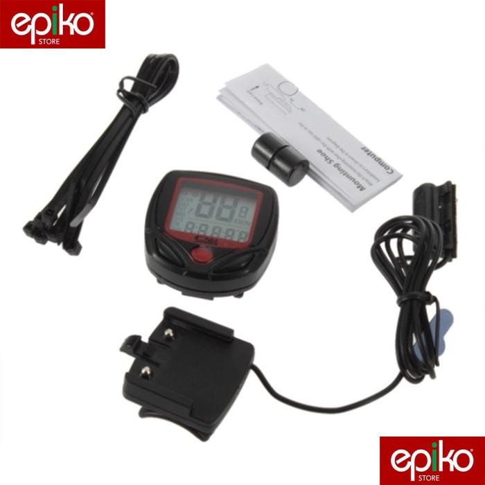 harga Speedometer sepeda 14 fungsi lcd display / anti air Tokopedia.com