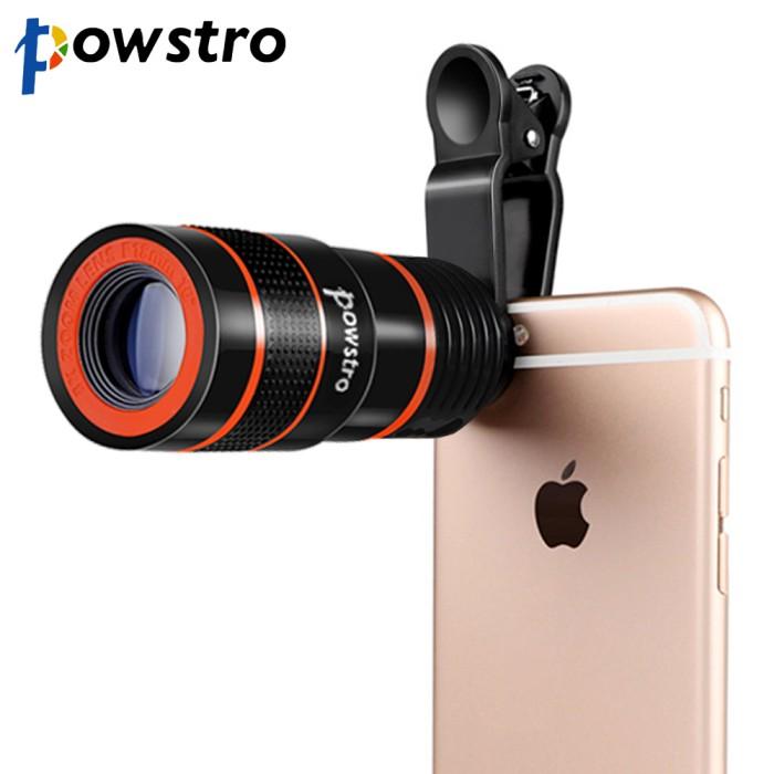 harga Powstro 8x zoom optical telescope mobile phone Tokopedia.com